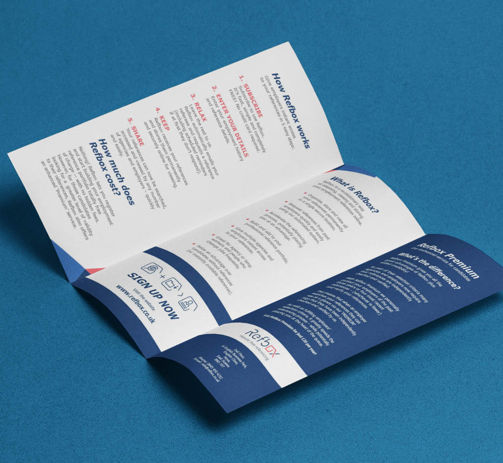 Picture of Folded Leaflets