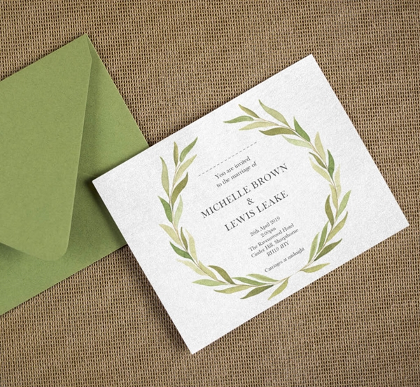 Picture of Wedding Stationery Design