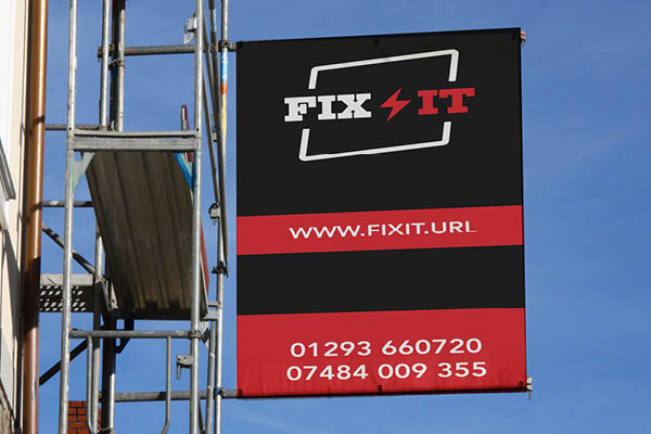 Picture of Scaffold Banners